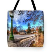 The Headless Horseman Bridge Tote Bag