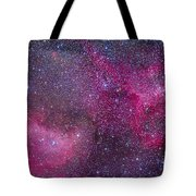 The Heart And Soul Nebulae Tote Bag
