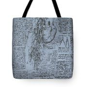 The Heart And The Bronchial Arteries Tote Bag