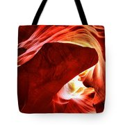 The Heart And The Dog Tote Bag
