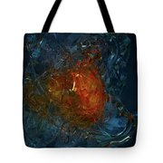 The Heart Of A Glass Blower Tote Bag