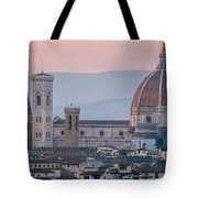 The Heart Of Florence Italy Tote Bag