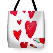 The Heart Of Love Tote Bag