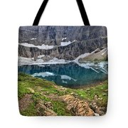 The Heart Of Many Glacier Tote Bag