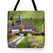 The Heart Of Normandy Tote Bag
