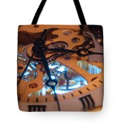 The Heart Of The Machine Tote Bag