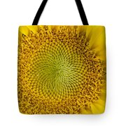 The Heart Of The Sunflower Tote Bag