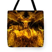 The Heat Of Passion Tote Bag