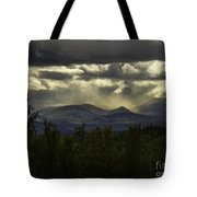 The Heavens And The Earth Tote Bag
