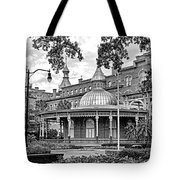 The Henry B. Plant Museum Bw Tote Bag
