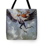 The Heron And The Crab Tote Bag