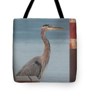 The Heron Of The Doc Tote Bag