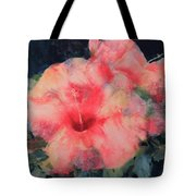 The Hibiscus Tote Bag
