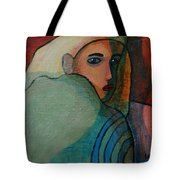 The Hiding Child Within Tote Bag