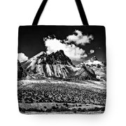 The High Andes Monochrome Tote Bag
