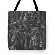 The High Priest Before Pilate [verso] Tote Bag