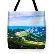 The High Road Tote Bag by Tom Zukauskas