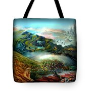 The Highkingdom Of Loch Lein Aka Hesperidean Avalon Tote Bag
