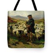The Highland Shepherd Tote Bag by Rosa Bonheur