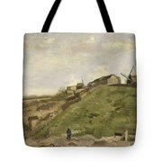 The Hill Of Montmartre With Stone Quarry 2 Tote Bag