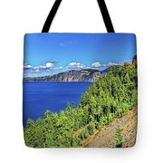 The Hills Of Crater Lake Oregon Tote Bag