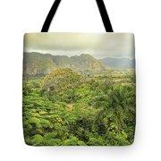 The Hills Of Vinales Tote Bag