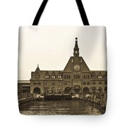The Historic Crrnj Train Terminal Tote Bag
