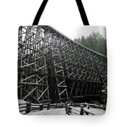 The Historic Kinsol Trestle 3. Tote Bag