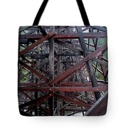 The Historic Kinsol Trestle  Inside View Tote Bag