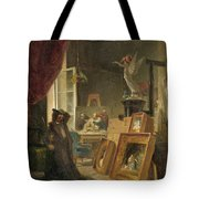 The History Painter Tote Bag