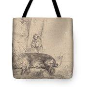 The Hog Tote Bag