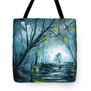 The Hollow Road Tote Bag