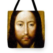 The Holy Face Tote Bag by Flemish School