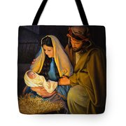 The Holy Family Tote Bag by Greg Olsen