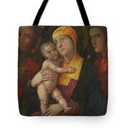 The Holy Family With Saint Mary Magdalen 1500 Tote Bag