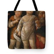 The Holy Family With St John Tote Bag
