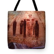 The Holy Ghost With His Companions Tote Bag