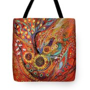 The Holy Land Autumn Tote Bag