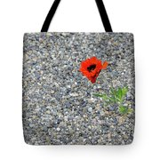 The Hopeful Poppy Tote Bag