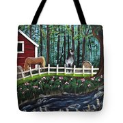 The Horse Farm Tote Bag