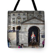 The Horse Guard At Whitehall Tote Bag