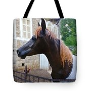 The Horse In The City Tote Bag