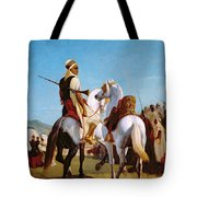 The Horse Of Submission Tote Bag by Louis Eugene Ginain