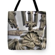 The Horse On The Bridge Tote Bag