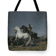 The Horse Thieves Tote Bag