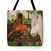 The Horse Whisperers Tote Bag