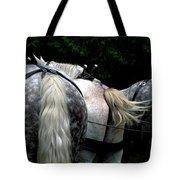 The Horses Of Mackinac Island Michigan 04 Tote Bag
