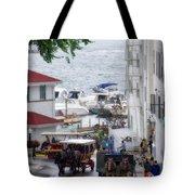 The Horses Of Mackinac Island Michigan Vertical 02 Tote Bag