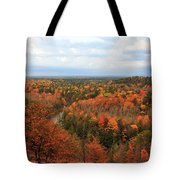 The Horseshoe Bend Of The High Rollaways Tote Bag