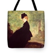 The Horsewoman Tote Bag